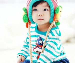 baby, korean, and sweet image