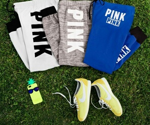 pink, fitness, and Victoria's Secret image