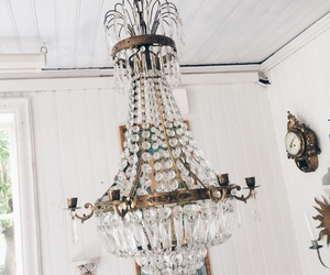 design, chandeliers, and gold image
