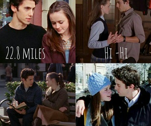 gilmore girls, jess and rory, and rory and jess image