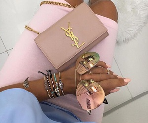 nails, YSL, and pink image