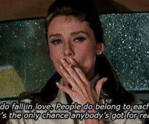 quotes, love, and audrey hepburn image