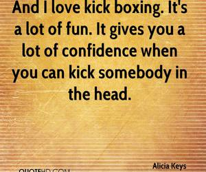 kickboxing and love image