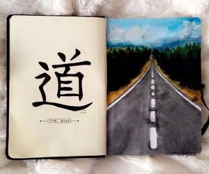 chinese, drawing, and sketchbook image