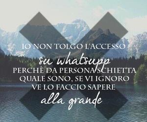 whatsapp, frasi italiane, and frasi stronze image