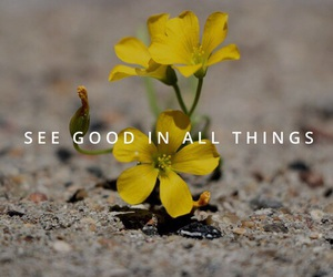 good, flowers, and life image