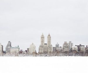 Central Park, city, and landscape image