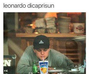 leonardo dicaprio, funny, and Leo image