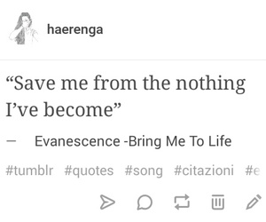 evanescence, nothing, and song image