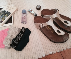 birkenstock, finland, and packing image