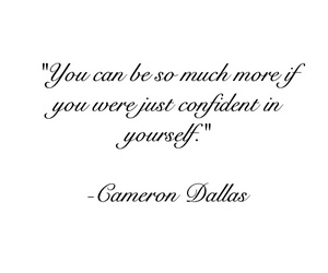 quote, cameron dallas, and text image