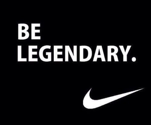 nike, quotes, and legendary image