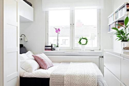 bed, bedroom, and romantic image