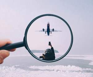 fly and plane image