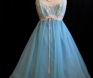 1950's, blue, and clothes image