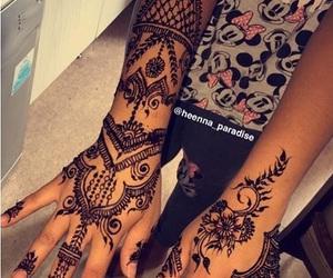 henna, henné, and sofli77 image