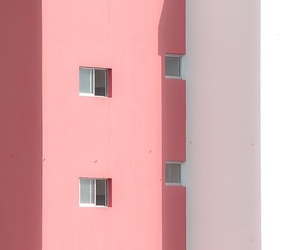 architecture, pink, and white image