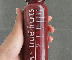 healthy, smoothie, and truefruits image