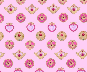 sailor moon, wallpaper, and pink image