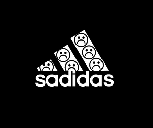 adidas, sad, and wallpaper image