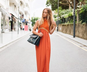 fashion, lisa olsson, and maxi dress image