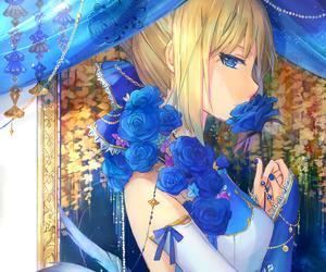 anime, girl, and fate zero image