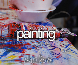 painting and shit i love image