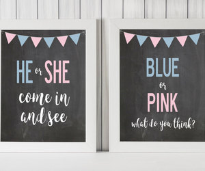 etsy, baby shower decor, and pink baby shower image