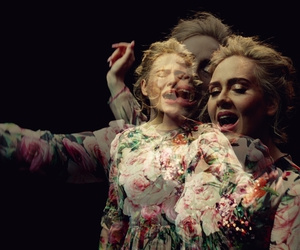 Adele, awesome, and music video image