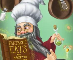 cartoon, dumbledore, and fun image