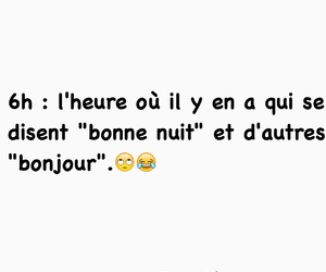 bonjour, french, and funny image