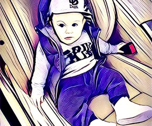 baby, prisma, and love image