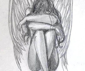 angel and draw image