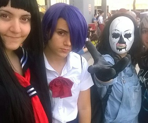cosplay, tokyo ghoul, and hell girl image