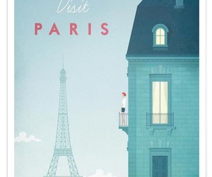 city, wallpaper, and parís image