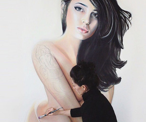 radeo suicide, art, and girl image