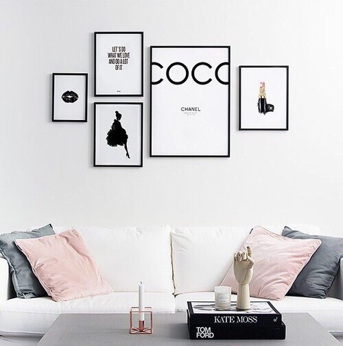 bedroom, decor, and style image