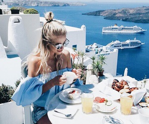 summer, breakfast, and food image