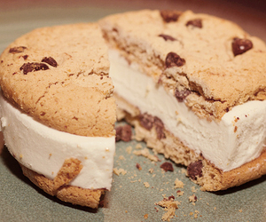 food, cookie, and chocolate image