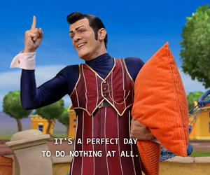 lazy town, funny, and Lazy image