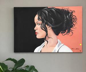 rihanna and art image