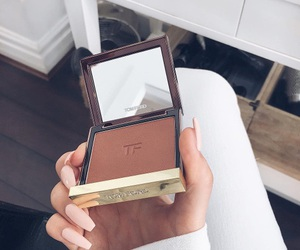 makeup, nails, and tom ford image