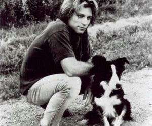 bon jovi, dog, and jon bon jovi image