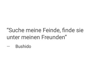 bushido, deutsch, and follow image
