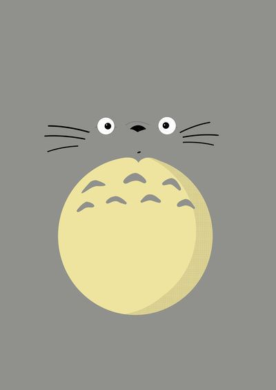totoro and wallpaper image