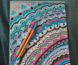 art, colores, and draw image