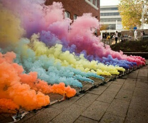 colors and smoke image