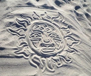 sun, sand, and beach image