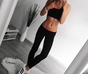 fashion, fitness, and clothes image