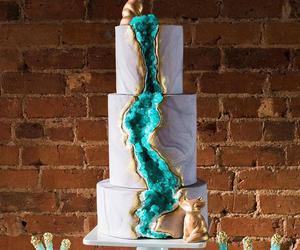 blue and cake image